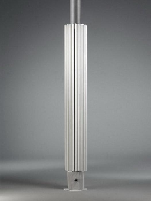 Calorifere verticale tip coloana cu elementi triunghiulari din otel JAGA - Poza 3