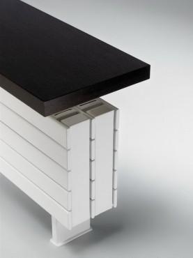 Prezentare produs Calorifer orizontal de plinta, tip banca - Panel Plus Bench  JAGA - Poza 3