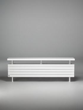 Prezentare produs Calorifer orizontal de plinta, tip banca - Panel Plus Bench  JAGA - Poza 4