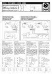 Schema electrica - Ventiloconvectoare - BRIC - BRBW - BRBC JAGA
