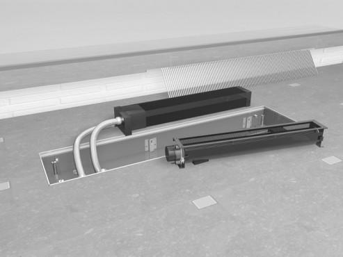 Prezentare produs Ventiloconvectoare de pardoseala LOW H2O JAGA - Poza 16
