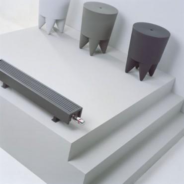 Exemple de utilizare Calorifere de plinta cu picioruse, cu inaltime mica JAGA - Poza 3