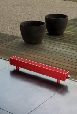 Exemple de utilizare Calorifere de plinta cu picioruse, cu inaltime mica JAGA - Poza 6