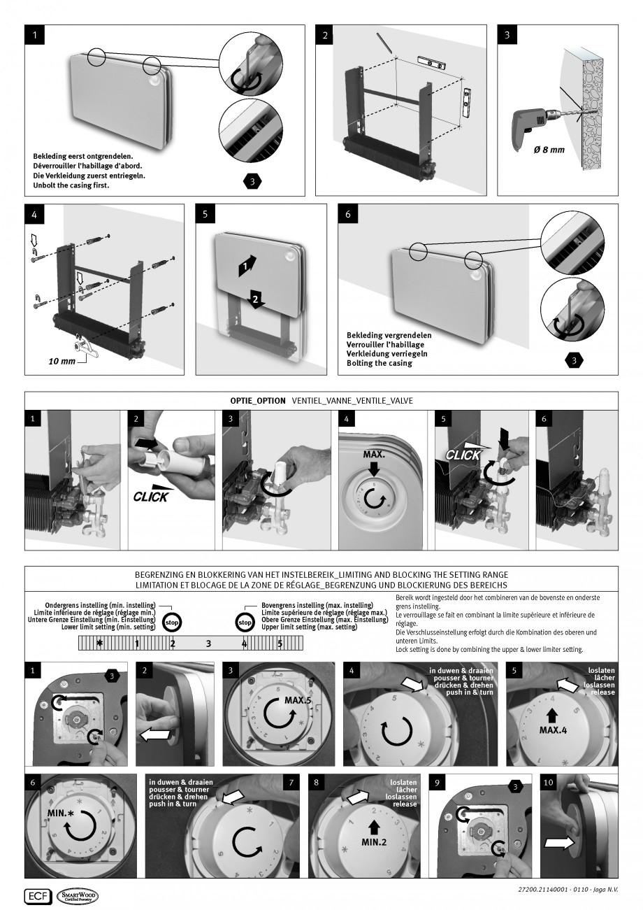 Pagina 2 - Radiatoare de joasa temperatura cu panou de lemn JAGA PLAY Instructiuni montaj, utilizare...