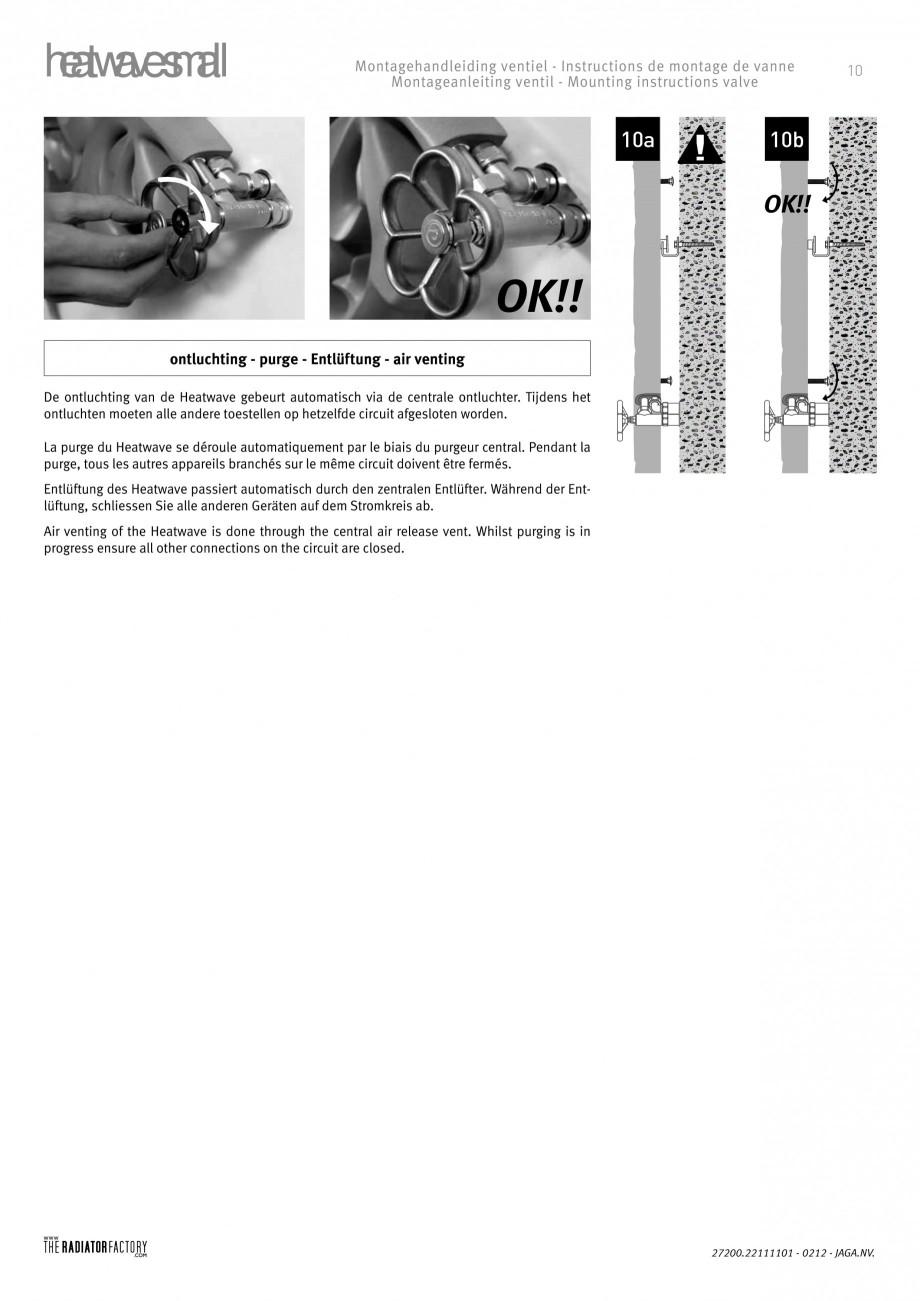 Pagina 10 - Radiatoare modulare - Small JAGA HEATWAVE Instructiuni montaj, utilizare Engleza,...