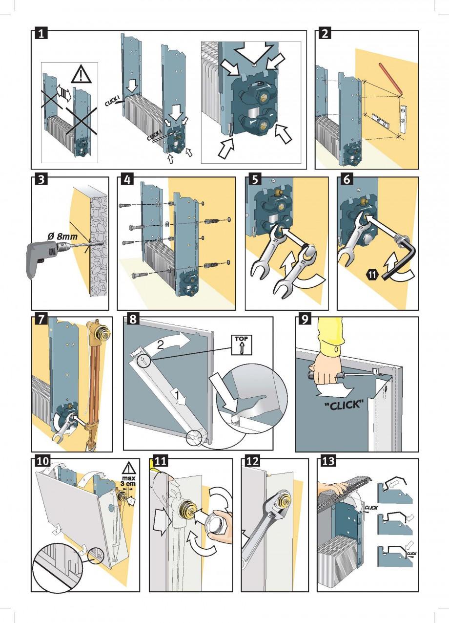 Pagina 2 - Robinet prelungit - Montaj JAGA LINEA PLUS Instructiuni montaj, utilizare Engleza,...
