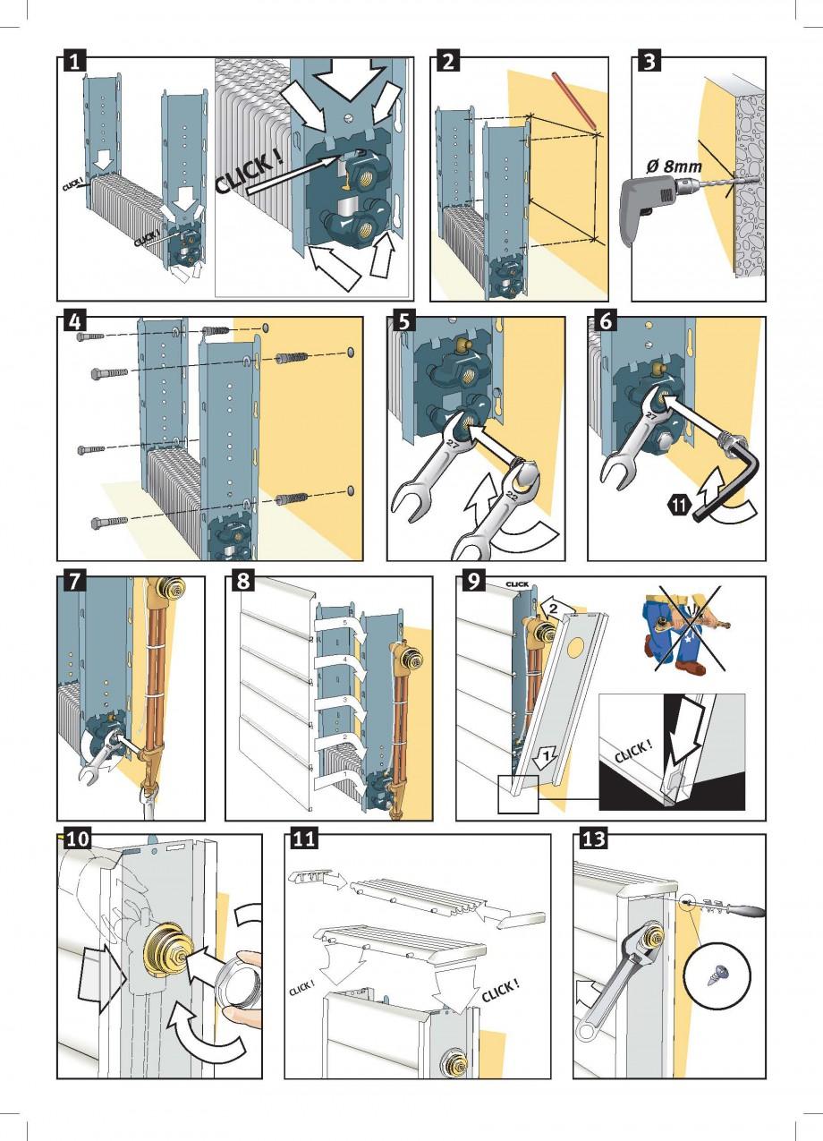 Pagina 4 - Robinet prelungit - Montaj JAGA LINEA PLUS Instructiuni montaj, utilizare Engleza,...
