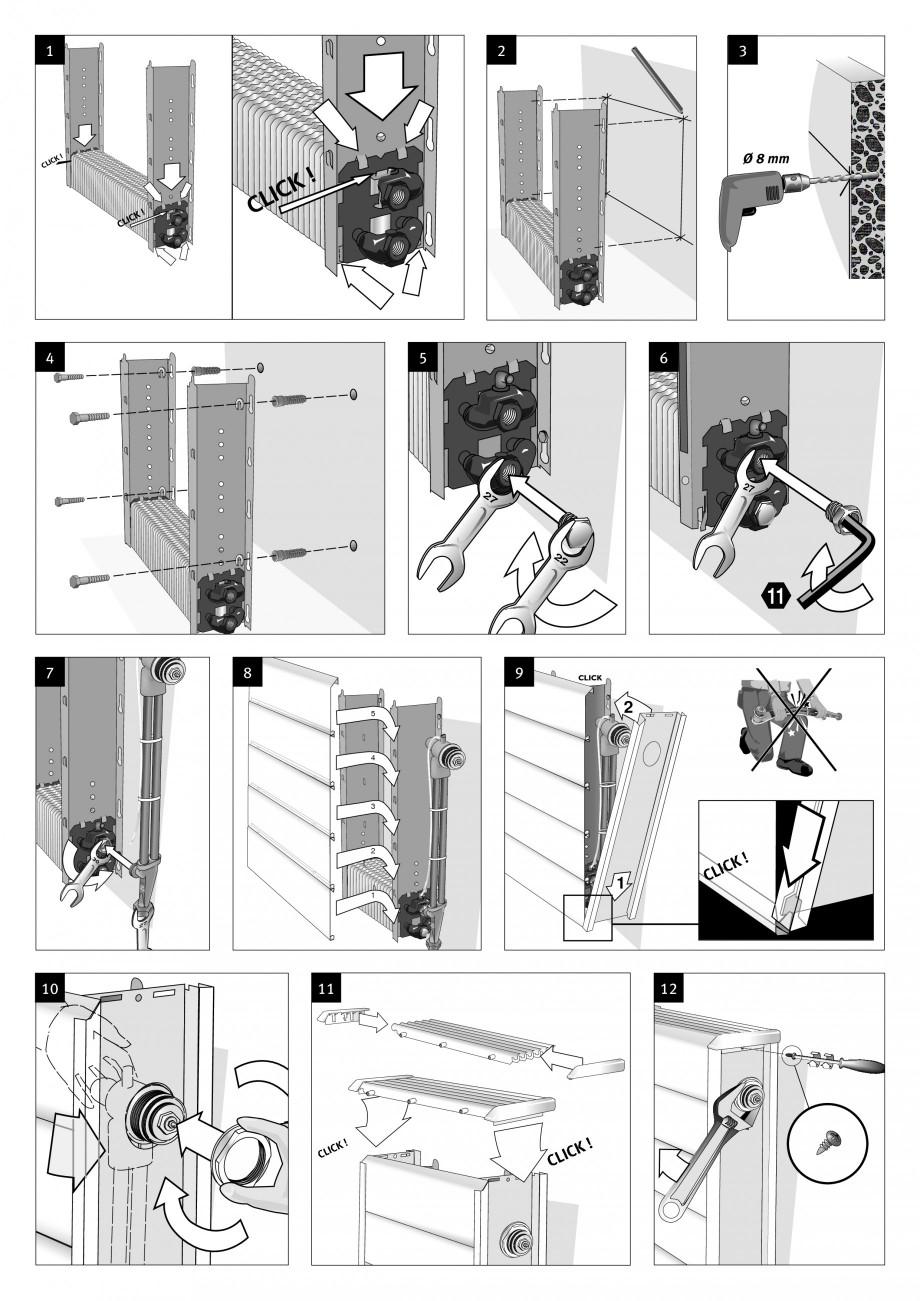 Pagina 2 - Robinet prelungit - Montaj  JAGA TEMPO Instructiuni montaj, utilizare Engleza, Franceza, ...