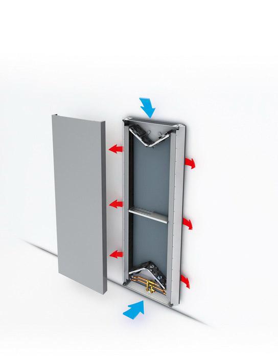 Radiatoare de joasa temperatura cu design special JAGA - Poza 1