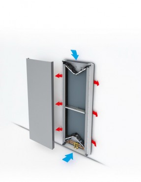 Prezentare produs Radiatoare de joasa temperatura cu design special JAGA - Poza 1