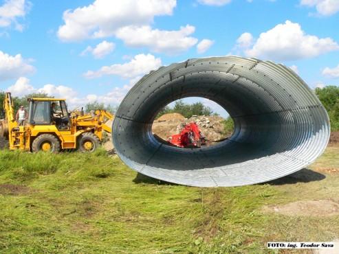 Structuri metalice prefabricate pentru drumuri si poduri TUBO TRADE PROIECT - Poza 6
