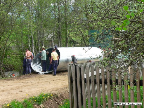 Structuri metalice prefabricate pentru drumuri si poduri TUBO TRADE PROIECT - Poza 11