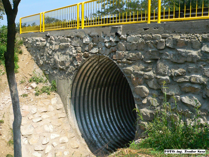 Structuri metalice prefabricate pentru drumuri si poduri TUBO TRADE PROIECT - Poza 43