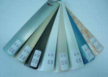 Paletar lamele / Lamela culori speciale