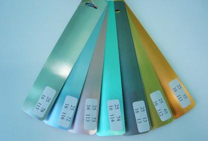 Paletar lamele / Lamela culori metalizate