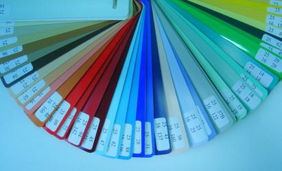 Paletar lamele / Lamela culori uni