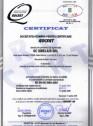 Certificat ISO 9001 2001