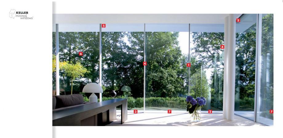 Pagina 2 - Usi si ferestre glisante din aluminiu KELLER Catalog, brosura Engleza, Germana t der...