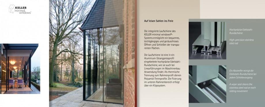 Pagina 6 - Usi si ferestre glisante din aluminiu KELLER Catalog, brosura Engleza, Germana...