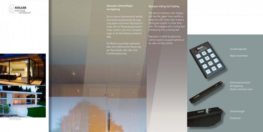Pagina 12 - Usi si ferestre glisante din aluminiu KELLER Catalog, brosura Engleza, Germana ...
