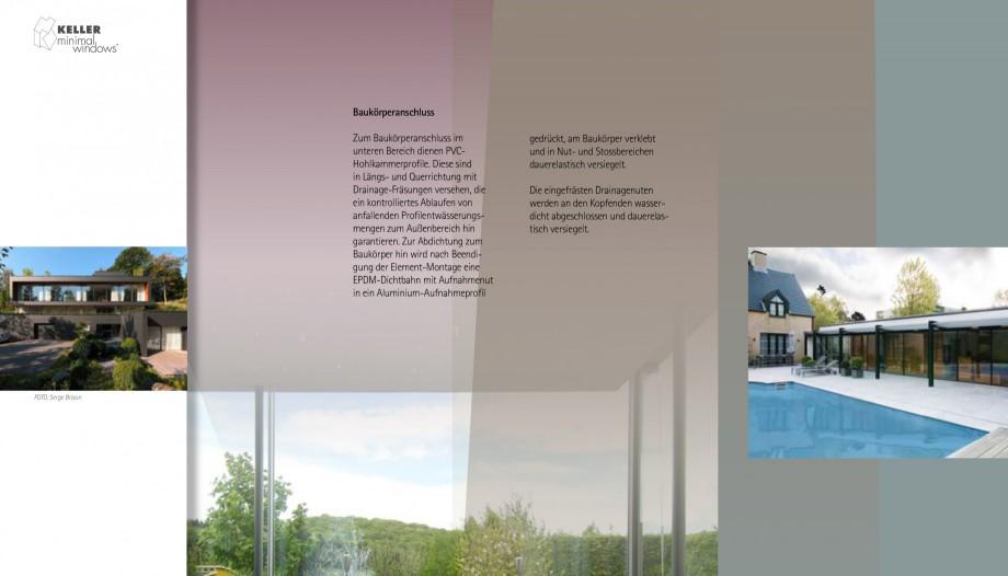 Pagina 16 - Usi si ferestre glisante din aluminiu KELLER Catalog, brosura Engleza, Germana öhe wie ...