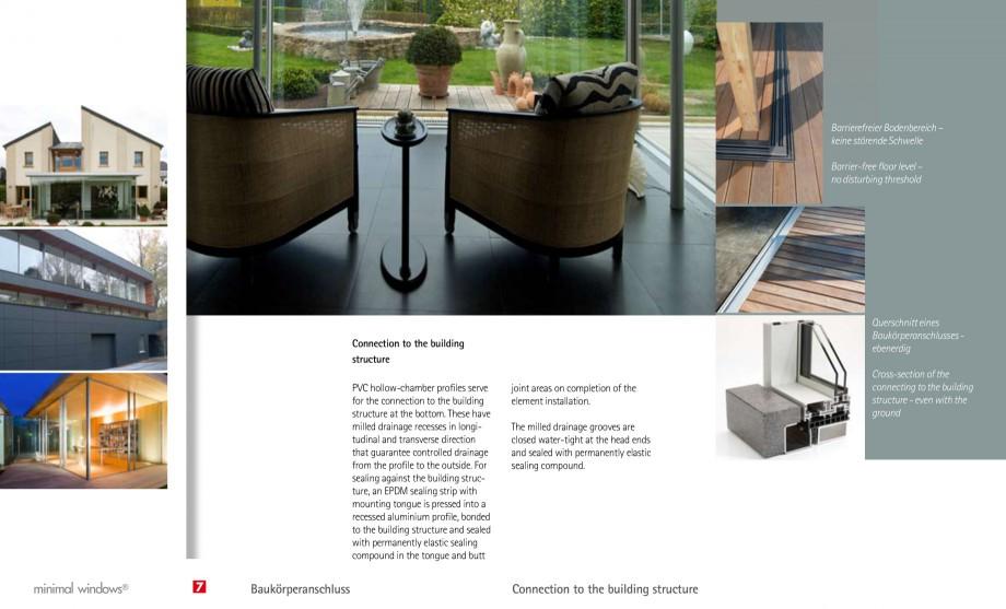 Pagina 17 - Usi si ferestre glisante din aluminiu KELLER Catalog, brosura Engleza, Germana g ...