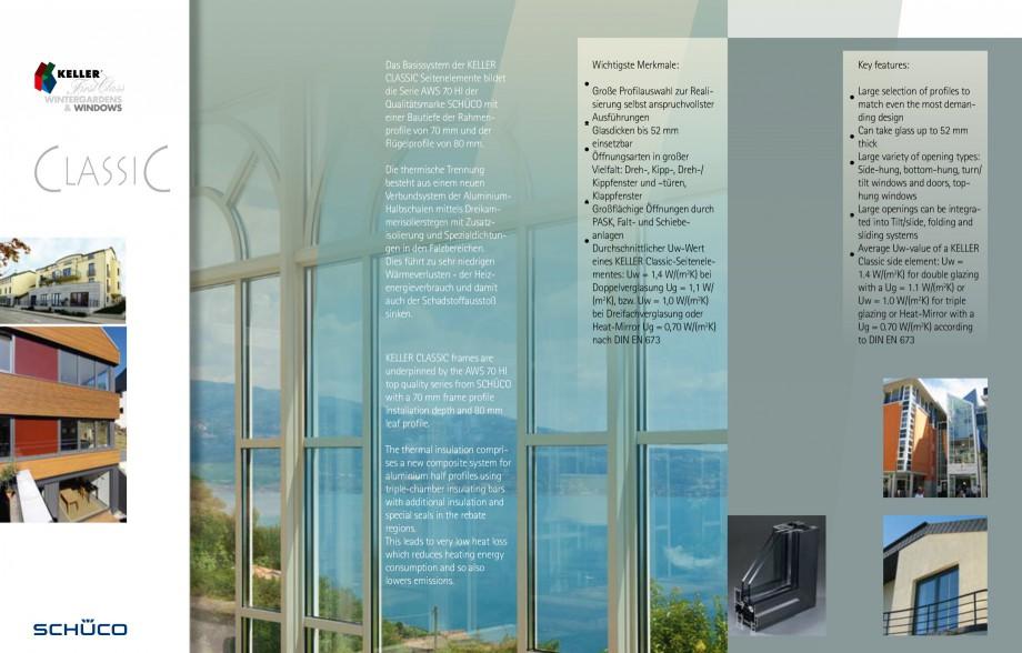 Pagina 20 - Usi si ferestre glisante din aluminiu KELLER Catalog, brosura Engleza, Germana htung mit...