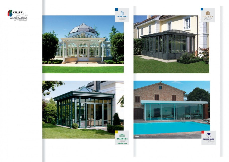 Pagina 23 - Usi si ferestre glisante din aluminiu KELLER Catalog, brosura Engleza, Germana  with...