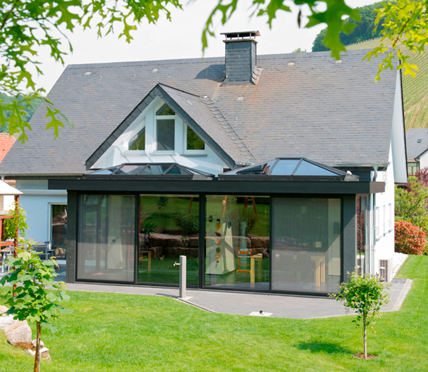Ferestre minimale - Casa sera 1 - Glasshouse® Deluxe KELLER - Poza 4