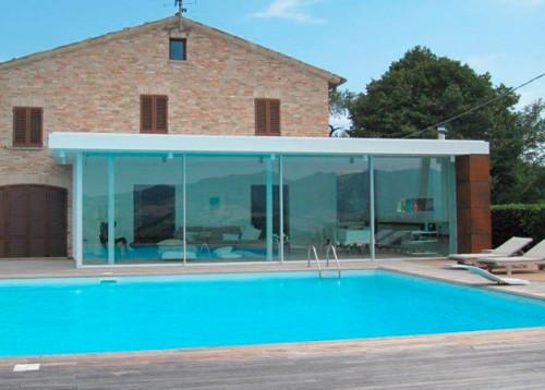 Prezentare produs Ferestre minimale - Terasa cu ferestre si usi glisante KELLER - Poza 7