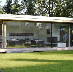 Usi si ferestre glisante din aluminiu pentru inchideri vitrate KELLER