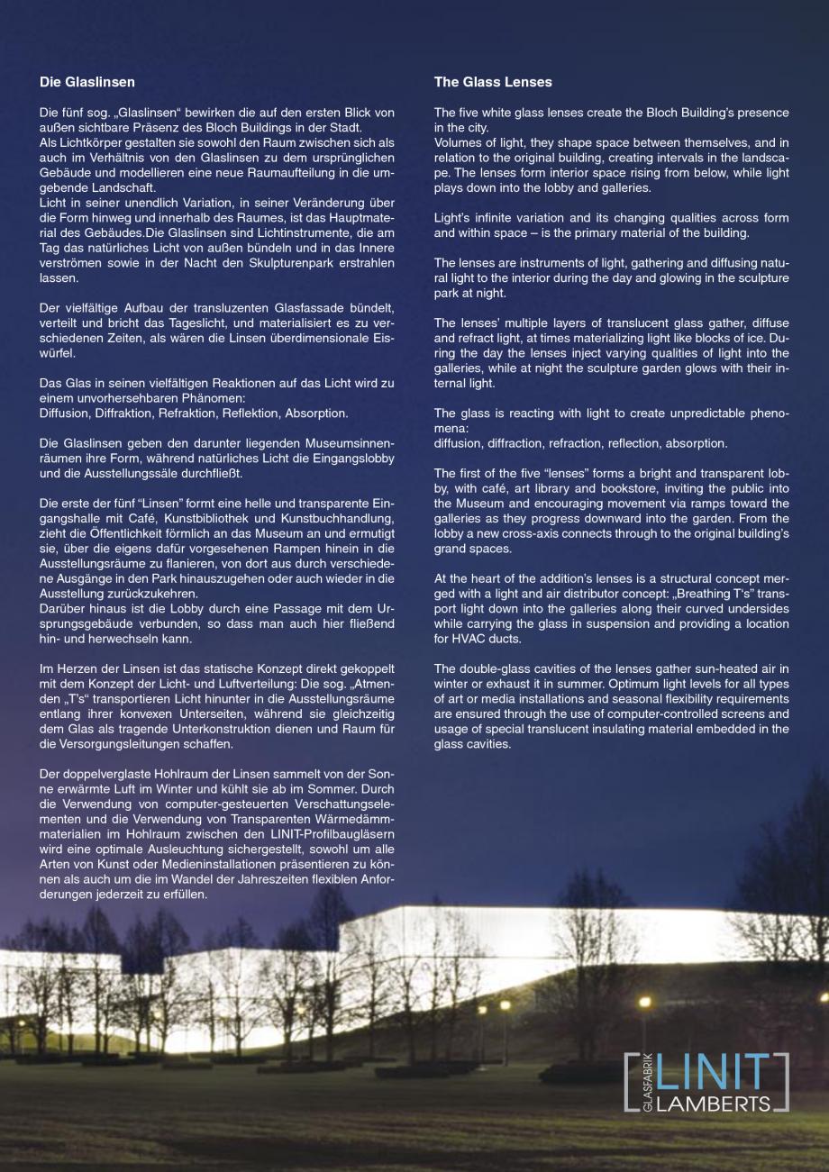Pagina 4 - Catalog de prezentare - Sticla in forma de U LINIT LINIT U Catalog, brosura Engleza d...