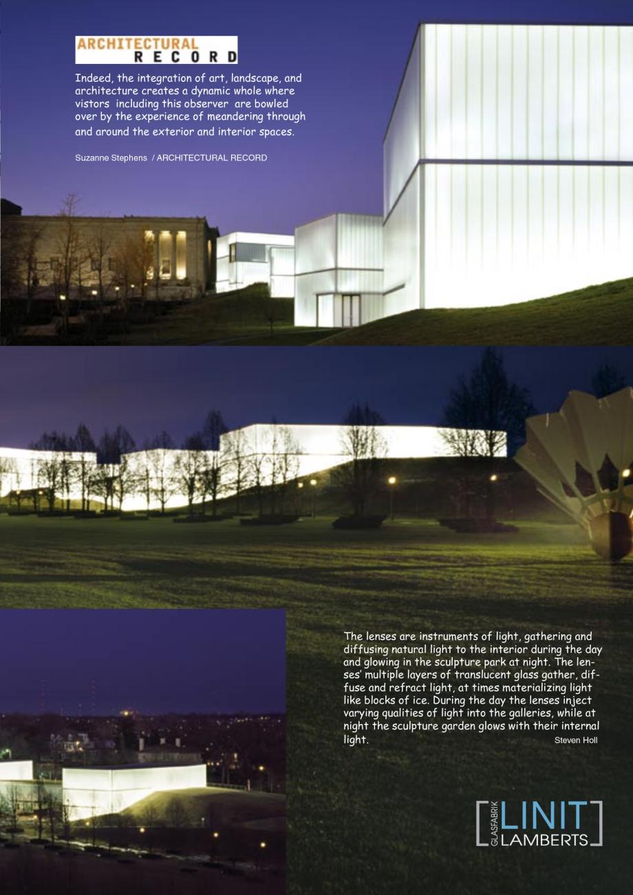 Pagina 28 - Catalog de prezentare - Sticla in forma de U LINIT LINIT U Catalog, brosura Engleza...