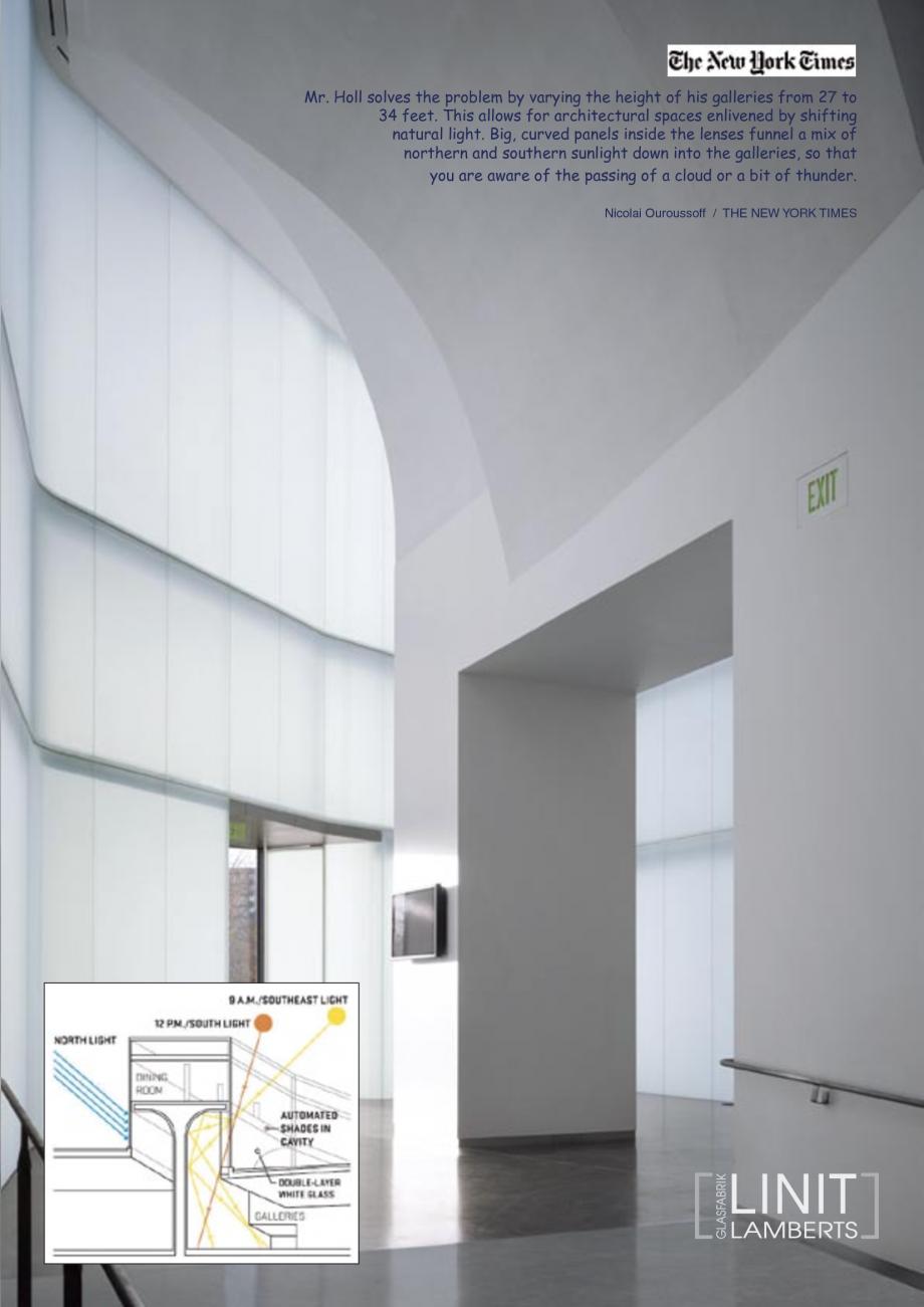 Pagina 36 - Catalog de prezentare - Sticla in forma de U LINIT LINIT U Catalog, brosura Engleza