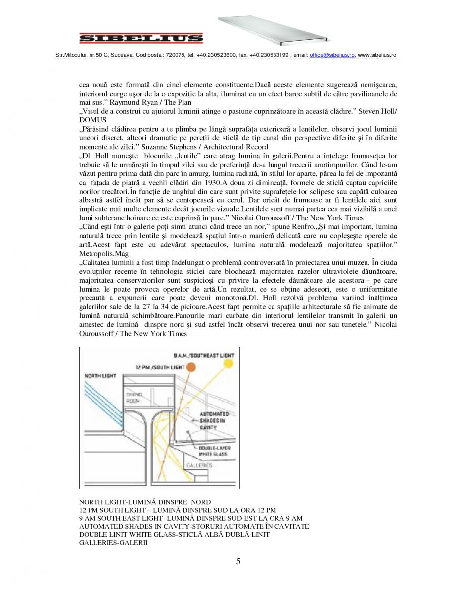 Pagina 5 - Sticla in forma de U LINIT LINIT U Catalog, brosura Romana iple de sticlă translucidă...