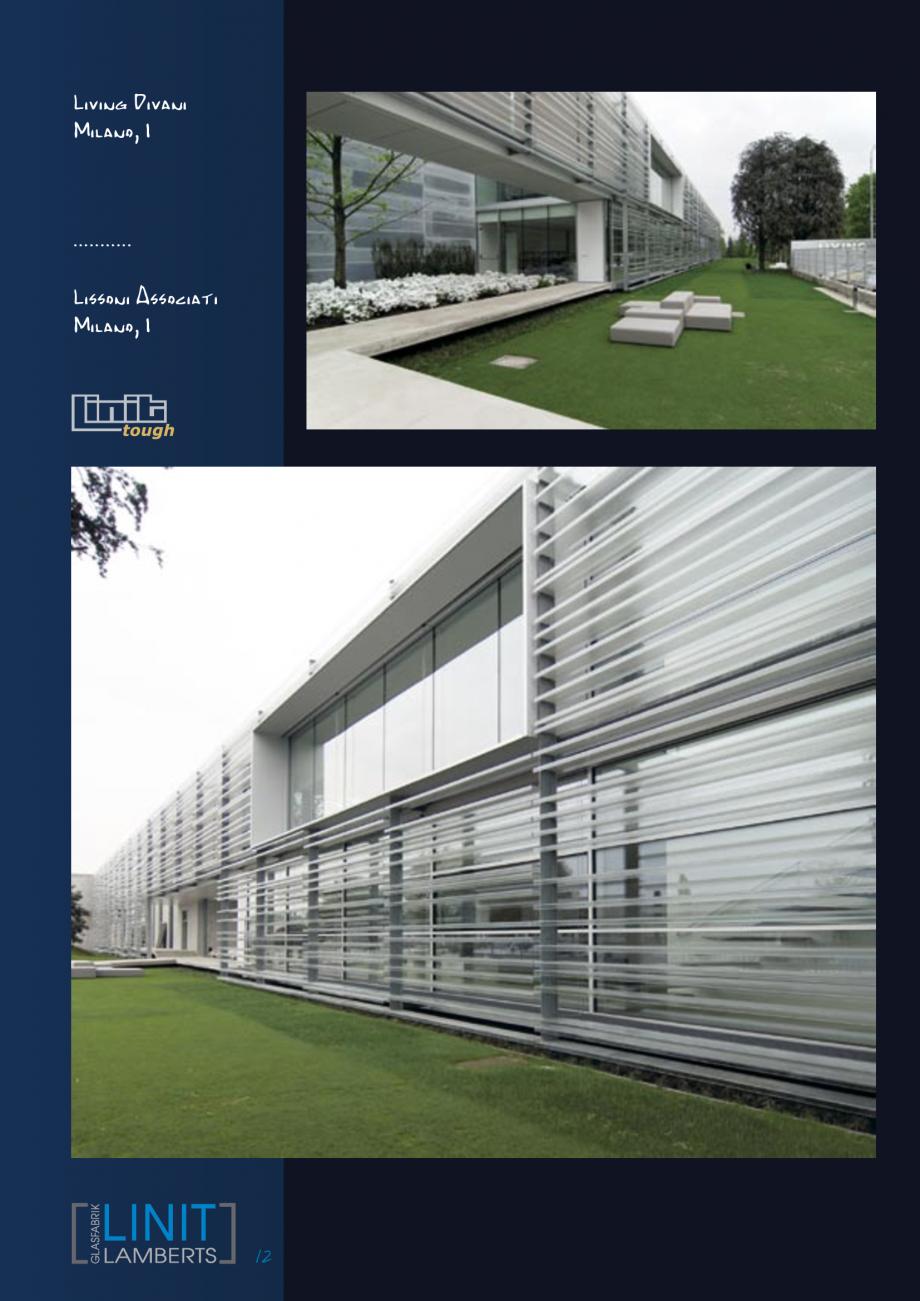 Pagina 13 - Sticla in forma de U LINIT LINIT U Lucrari, proiecte Engleza, Germana