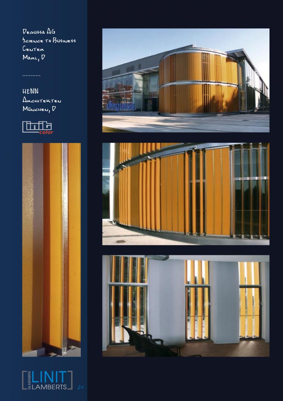 Pagina 25 - Sticla in forma de U LINIT LINIT U Lucrari, proiecte Engleza, Germana