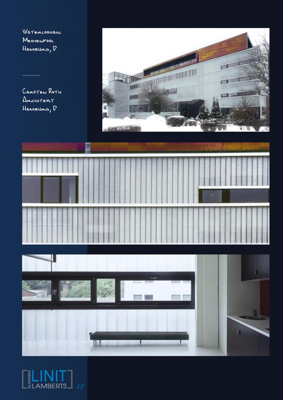 Pagina 29 - Sticla in forma de U LINIT LINIT U Lucrari, proiecte Engleza, Germana