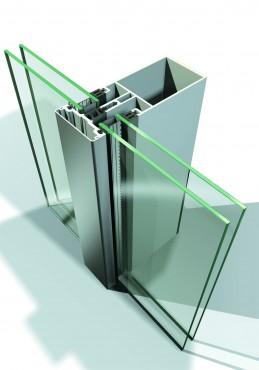 Sisteme din aluminiu pentru fatade continue LEYKOM METRA - Poza 17