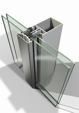 Sisteme din aluminiu pentru fatade continue LEYKOM METRA - Poza 18