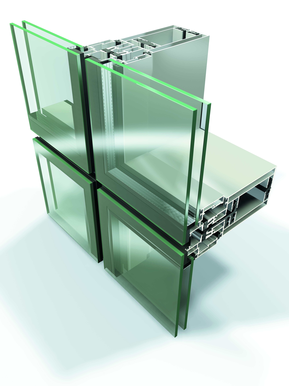 Sisteme din aluminiu pentru fatade continue LEYKOM METRA - Poza 19