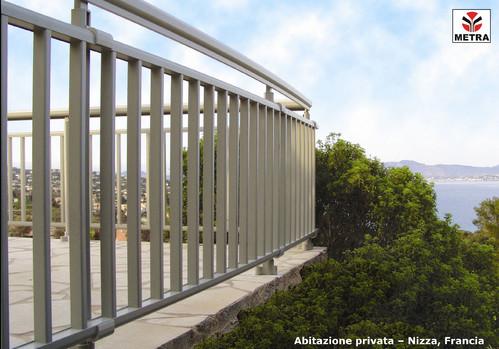 Balustrade, maini curente pentru scari si balcoane LEYKOM METRA - Poza 1