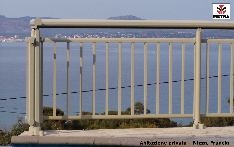 Balustrade, maini curente pentru scari si balcoane LEYKOM METRA - Poza 2