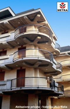 Balustrade, maini curente pentru scari si balcoane LEYKOM METRA - Poza 5