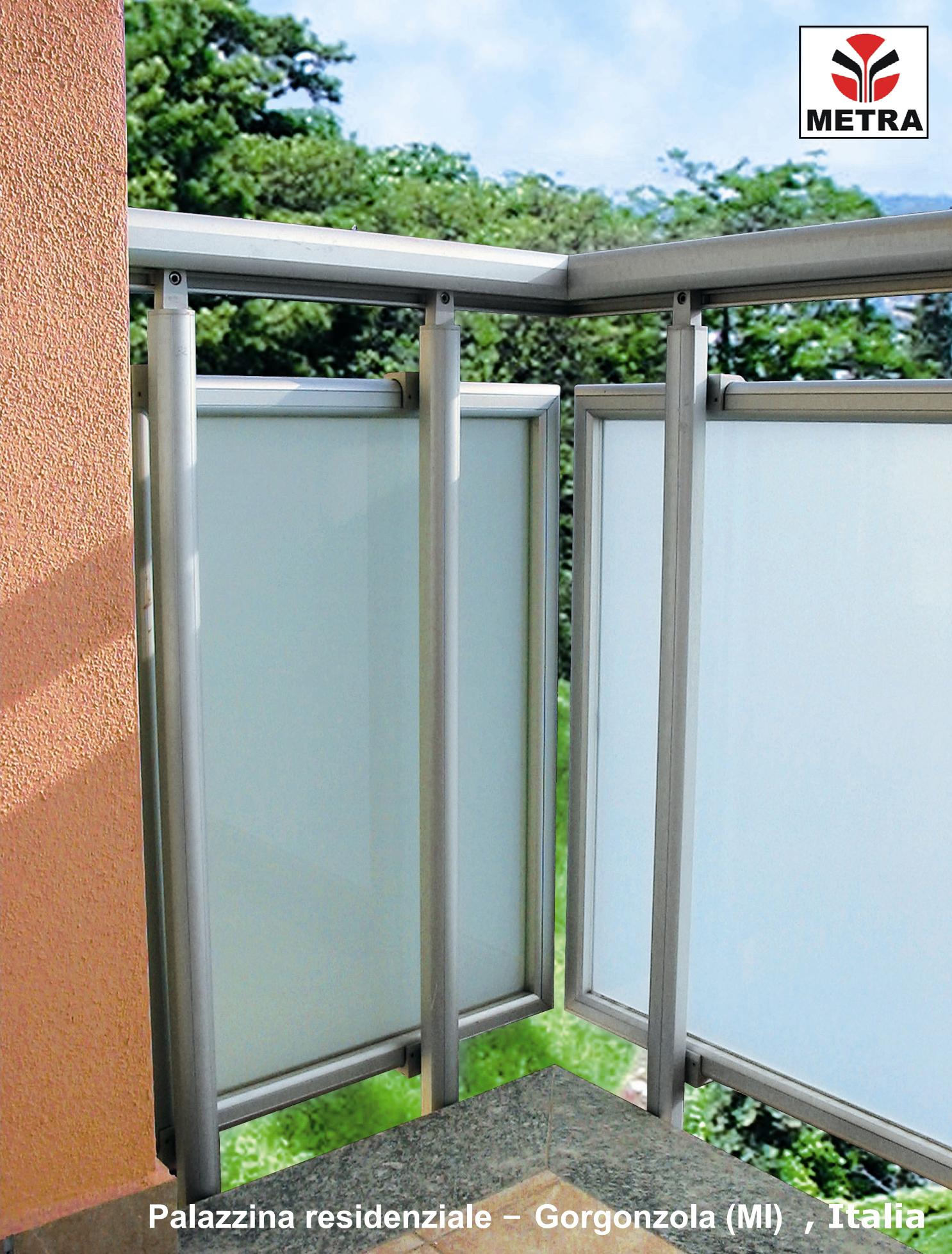 Balustrade, maini curente pentru scari si balcoane LEYKOM METRA - Poza 10