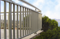 Sisteme aluminiu balustrade, maini curente pentru scari si balcoane LEYKOM METRA
