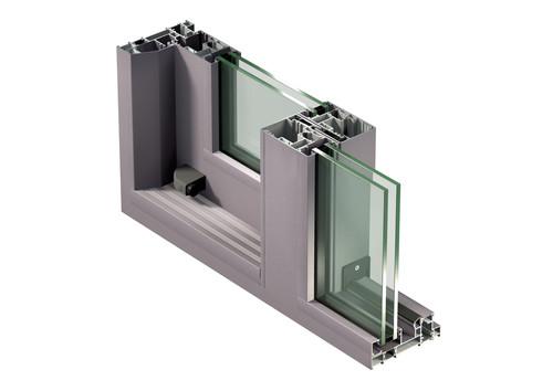 Sisteme aluminiu pentru usi glisante LEYKOM METRA - Poza 7