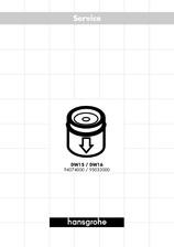 Accesorii pentru baterii bidet HANSGROHE
