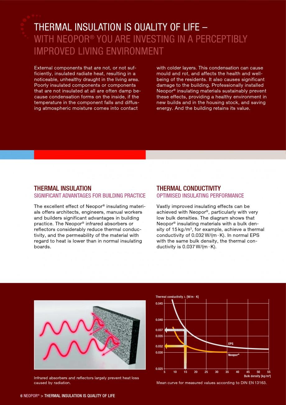Pagina 6 - Polistiren expandat - Building and modernising with NEOPOR BASF Catalog, brosura Engleza ...