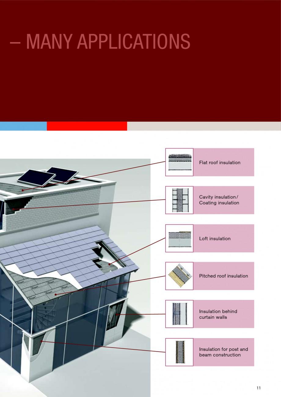 Pagina 11 - Polistiren expandat - Building and modernising with NEOPOR BASF Catalog, brosura Engleza...